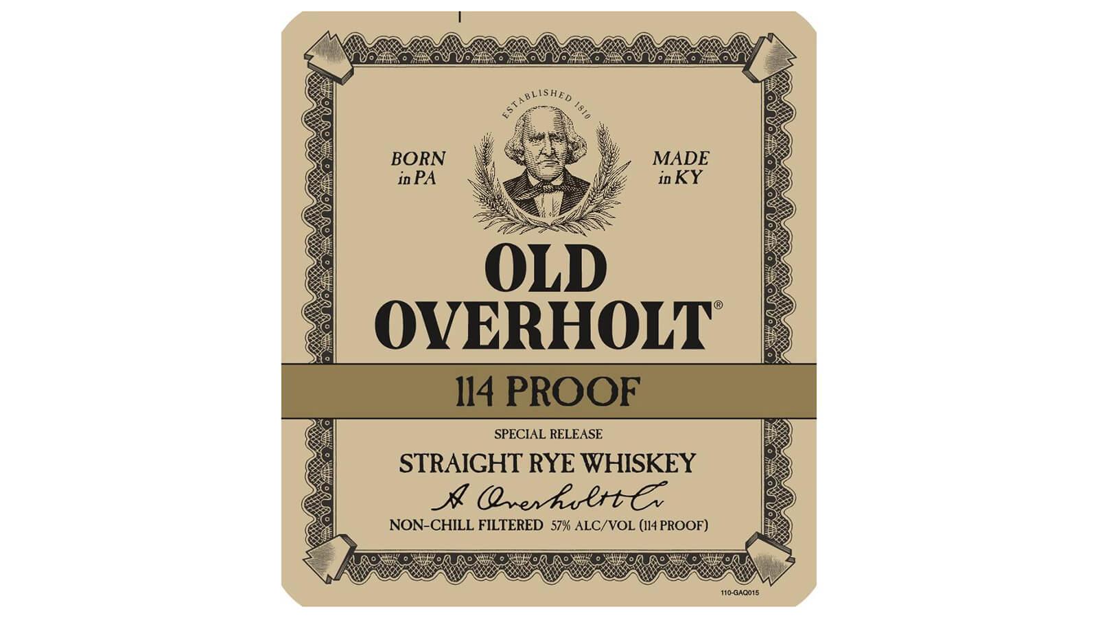 Old Overholt - 114 Proof